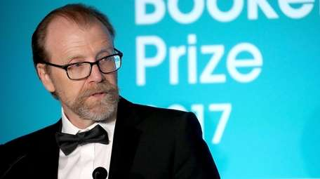 Author George Saunders attends the Man Booker Prize