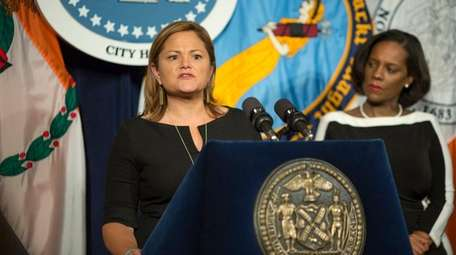 NYC Council Speaker Melissa Mark-Viverito talks at City