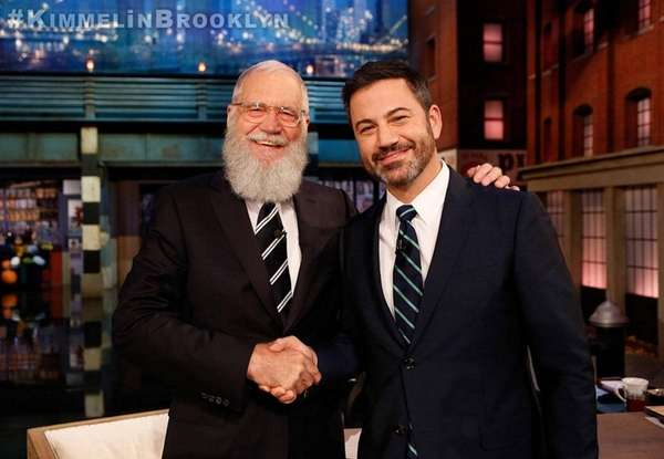 David Letterman Mocks Jimmy Fallon on 'Jimmy Kimmel Live'