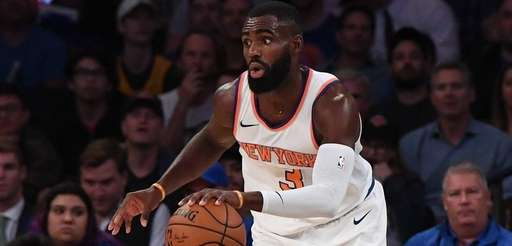 New York Knicks guard Tim Hardaway Jr. steals
