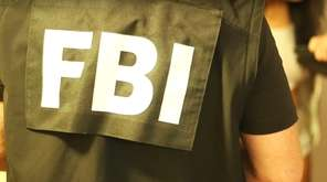An FBI agent is seen in this undated
