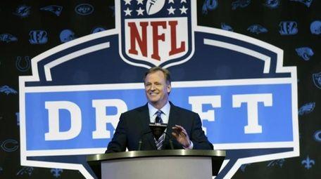 NFL Commissioner Roger Goodell at the 2016 NFL