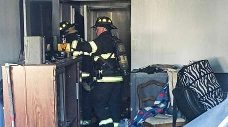 The Freeport Fire Department responds to a kitchen