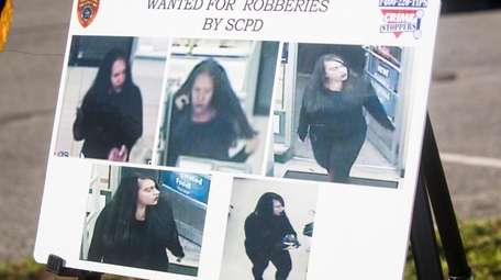 Suffolk police released surveillance images of a suspect