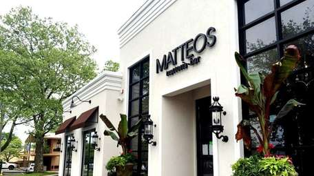 After three years of renovation, Matteo's Trattoria &
