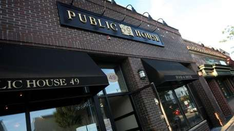 The exterior of Public House 49, at 49