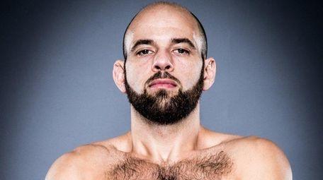 Bellator MMA fighter John Beneduce from Brooklyn.