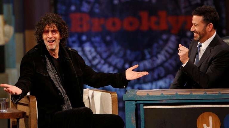 Howard Stern appears on