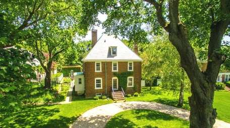 The 1,950-square-foot Georgian Revival-style home in Southold has