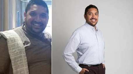 Prady Surti, 38, of Bethpage, is pictured in