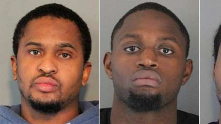 Nassau detectives said they charged three Brooklyn men