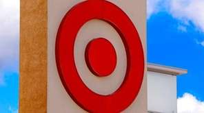 The Target logo on a store in Upper