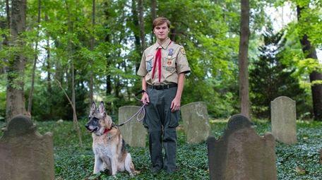 Adam Braun found the 18th century graveyard in