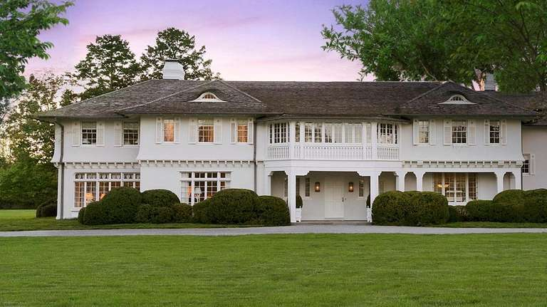 The East Hampton home is known as Lasata,