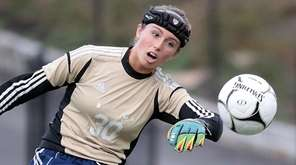 Goalkeeper Lydia Kessel has 12 shutouts for Shoreham-Wading
