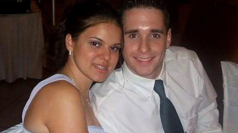 Jennifer Hromadka and her fiance, Raymond Clark. Clark,