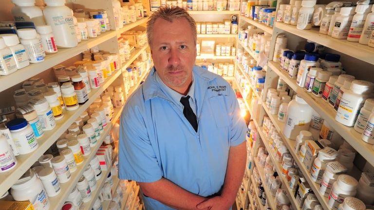 Pharmacist Michael T. Hushin says the new health