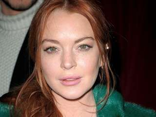Lindsay Lohan, pictured in Manhattan on Feb. 13,
