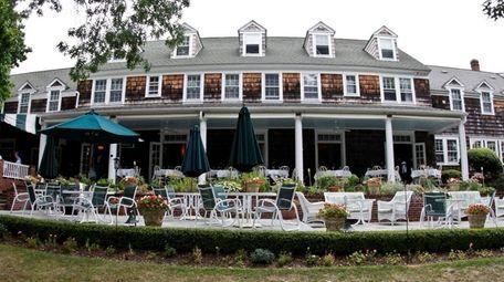 Ram's Head Inn at Shelter Island Heights, seen