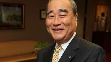 Joe Adachi, president and chief executive of Canon