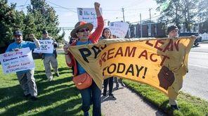 Immigrant advocates, calling for