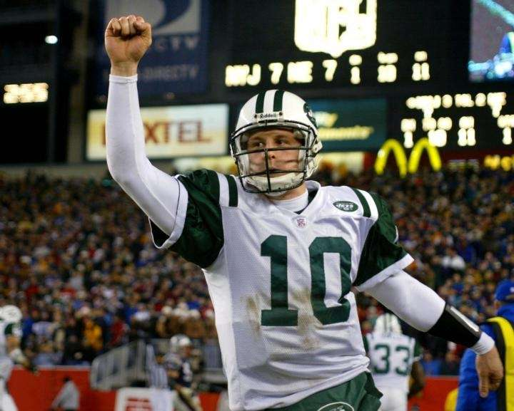 December 22, 2002 New York Jets quarterback Chad