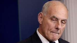 White House Chief of Staff John Kelly speaks