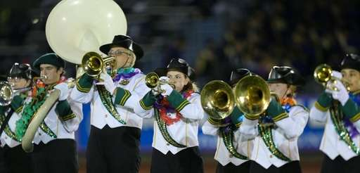 Seaford High School performs at the 55th Annual