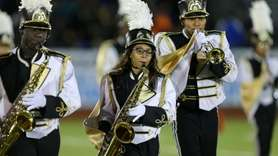 Uniondale High School performs at the 55th Annual