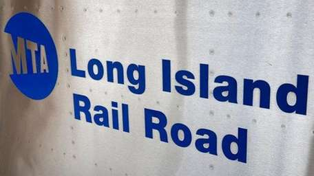 The Long Island Rail Road logo is shown