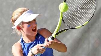 Port Washington's Thea Rabman in win over Roslyn's