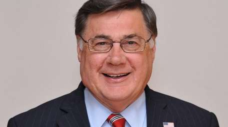 Republican Ed Romaine, incumbent candidate for Brookhaven Town
