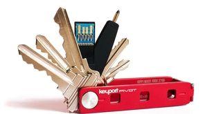 The Keyport Pivot is a customizable key holder