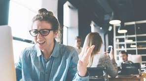 A survey finds that young millennial women are