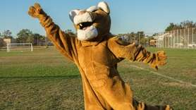 John F. Kennedy High School's cougar mascot (played