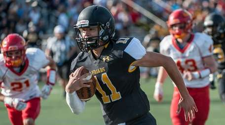 St. Anthony's QB Gregory Campisi on his way