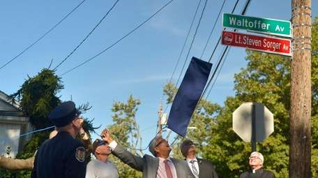 A street renaming ceremony was held in North