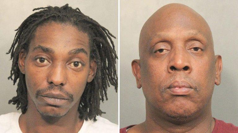 Eugene Jones, 34, of Bethpage, left, and Lloyd