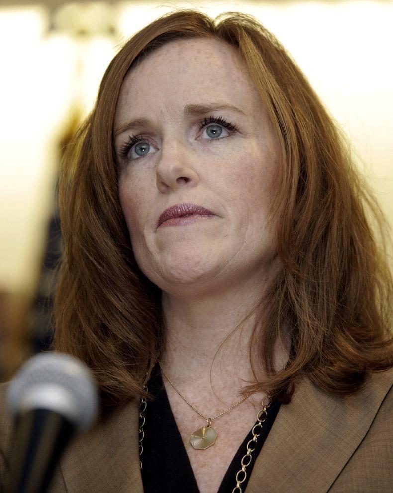 Nassau DA Kathleen Rice announces a Hofstra student