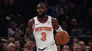 New York Knicks guard Tim Hardaway Jr. brings