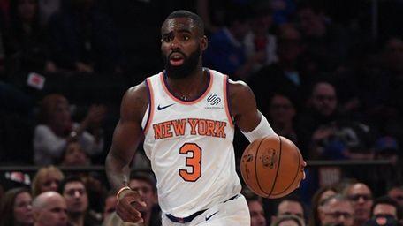 New York Knicks guard Tim Hardaway Jr. brings