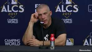 The Houston Astros defeated the New York Yankees,