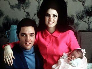 In February 1968, Elvis and Priscilla Presley posed