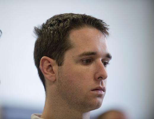 Raymond Clark III, 24, is arraigned at Superior