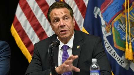 Gov. Andrew M. Cuomo, seen here on Sept.