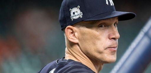 Yankees manager Joe Girardi during batting practice before