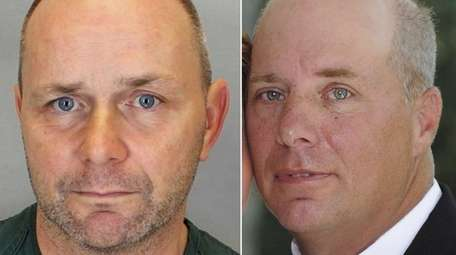 Christopher O'Brien, 56, left, was drunk when he