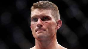 Stephen Thompson waits for the decision after his