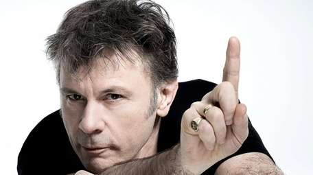 Iron Maiden's Bruce Dickinson comes to Book Revue