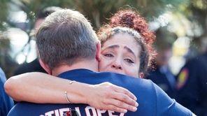 Slain Nassau Police Officer Arthur Lopez's sister, Charo